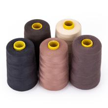 Швейная нить 100% хлопковая нить для изготовления париков