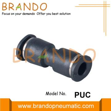 Union Straight Push In Miniature Pneumatic Fittings 4mm