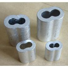 Virola de aluminio sin costura de reloj de arena