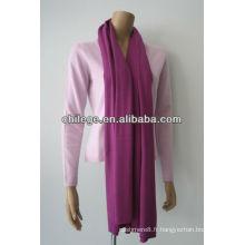 wraps à tricoter en cachemire