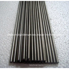 99.95% Rods purs de tungstène pour le four à hautes températures