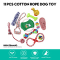 11 PCS Dog Toys Set Training Chew Toys