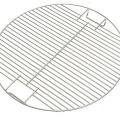tragbarer Grillrost aus rostfreiem Stahl mit runder Form
