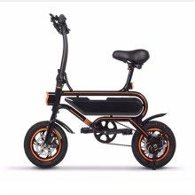 12 '' 350 W leve adulto dobrável bicicleta elétrica
