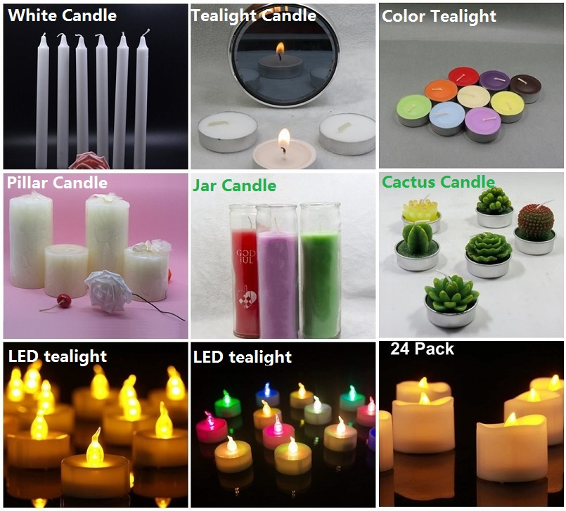 Aoyin candle with cactus candle 1