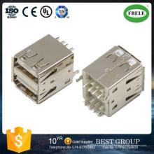 Rj Connector Connecteur USB Doub; E Connecteur USB