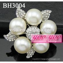 Broches pour bijoux en fleurs de mariage