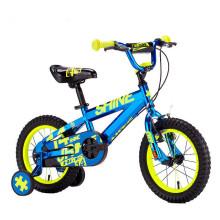 2017 New design hot sale cool kids bikes/simple design lightweight boys bike 14/metal 4 wheels kids bike sale Yimei Brand
