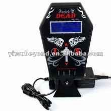 Suministro de nuevo estilo Coffin Tattoo Power Equipment