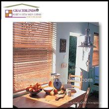 Высокий профиль лестницы строки различных материалов деревянные жалюзи