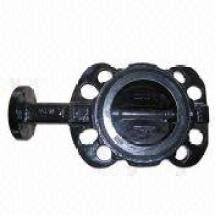 Válvula de mariposa de línea media Dn40-Dn-800 a norma italiana