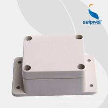 Boîte de carte PCB de boîtier en plastique ABS de haute qualité Saipwell de sortie d'usine 63 * 58 * 35MM