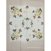 Butterfly Embroidery Easter Day Tablecloth 2016