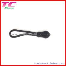 Black Plastic String Zipper Abzieher für Rucksack