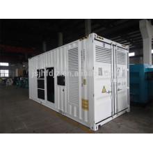 China Jichai 1000kw silent diesel generator 1mw silent diesel power generator