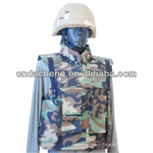 Taktische kugelsichere Weste mit Schulter und Kragen schützen