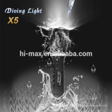 Cree t6 mini lampe t6 Taschenlampe Aluminiumgehäuse