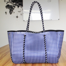 Fashion Design Perforerade Neopren Sommar Beach Bags