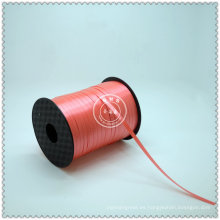 Cinta rizada colorida en relieve polivinílica para el embalaje del regalo
