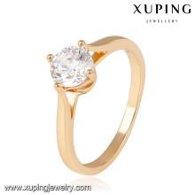 14044- Xuping Jewelry Fashion 18K Bagues de mariage plaqué or
