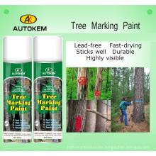 Aerosol Tree Marking Paint, Tree and Log Marking Paint, Wood Marking Paint, Forest Marking Paint