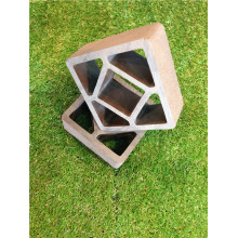 Tipo de suelo de ingeniería y técnicas de suelos compuestos de madera y plástico Lámina de madera compuesta de plástico