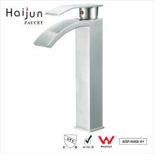 Haijun 2017 Promotional Ornate 0.1~1.6MPa Thermostatic Push Down Basin Faucet