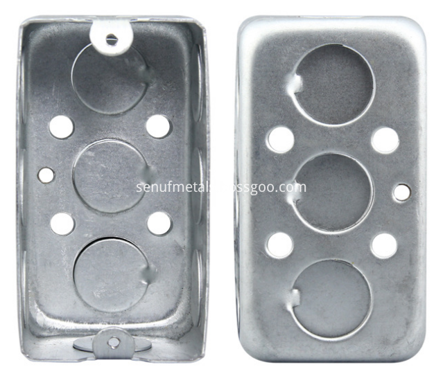 Square Electrical Box Steel Boxmetal Outlet Box Utility Box Conduit Box