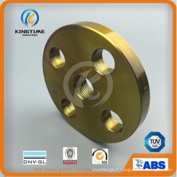 Bride filetée d'acier au carbone de bride de tuyau forgée (KT0404)
