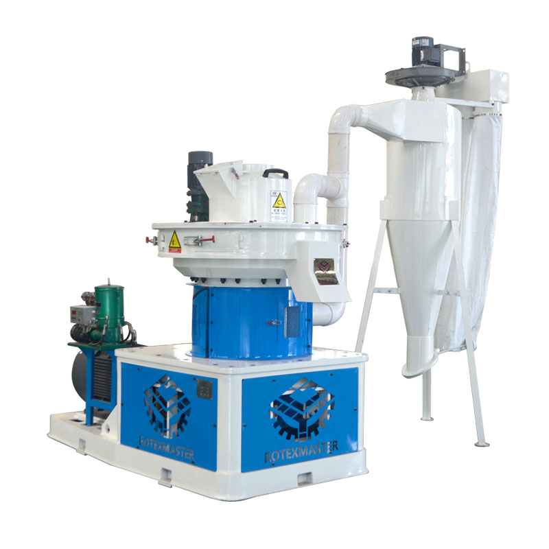 rubber wood pellet machine