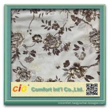 latest design china velvet fabric decorative half fabric half leather sofa
