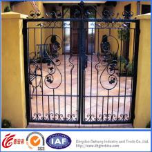 Portão de alta qualidade elegante estilo simples