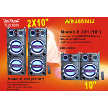 Double 10 Inch Strong Power Stage Professional Speaker for DJ E330