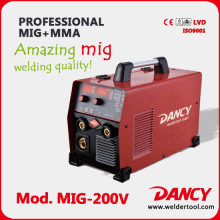 Single Phase 200map Mig welding machine