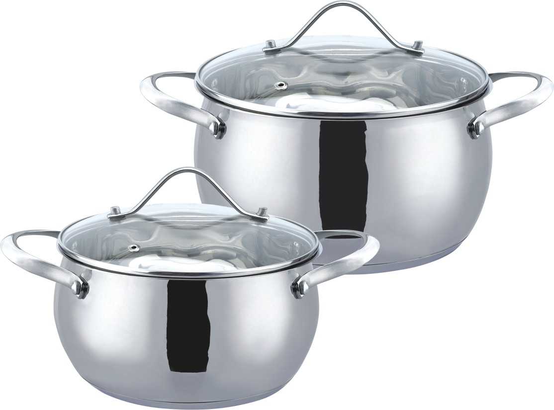 4pcs apple shape cookware set