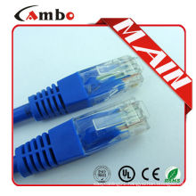 RJ45 Plug Connector Gold Plated cat5e/cat6/ patch cord