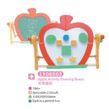 Madeira Placa de desenho multifuncional Placa magnética Blackboard com blocos para crianças Brinquedos educativos Brinquedos Desenho