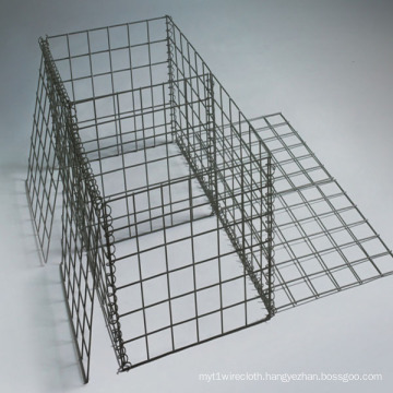 Mesh 75X75mm Galvanized Welded Gabion Baskets