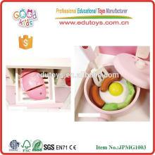 Lovely Strawberry Wooden Toys Cabinet de cuisine pour enfants