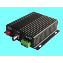 1 Channel Video and Reverse Data Fiber Transceiver