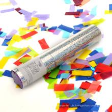 Canon à confettis coloré Rectangle Slip