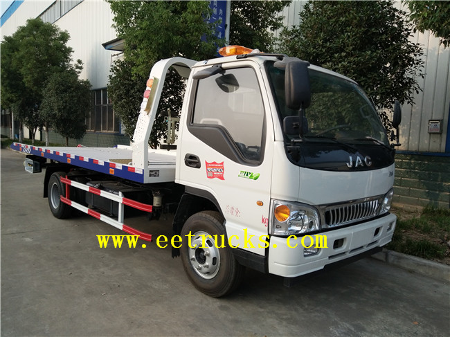 JAC Flatbed Tow Trucks