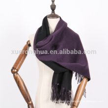 bufanda reversible de la bufanda de los colores de la cachemira gruesa del invierno