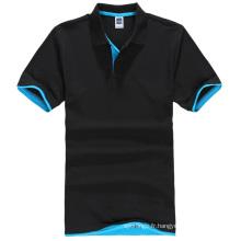 le dernier polo des hommes simples t-shirt vente chaude chemises