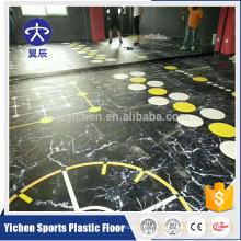 gymnase mobile multifonctionnel Gym / fitness palaestra PVC Sports Flooring