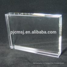 Горячий продавать хорошее качество высокое качество пустой кристалл K9 стеклянный блок