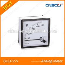 SCD72-V medidor de panel analógico 1ma clase 1.5