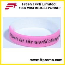 Articles de cadeaux OEM Bracelets en silicone personnalisés pour le sport