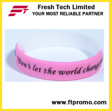 OEM Gift Items Custom Silicone Wristbands for Sport