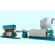 Ligne ondulée de machine de production d'extrusion de tuyau de PE